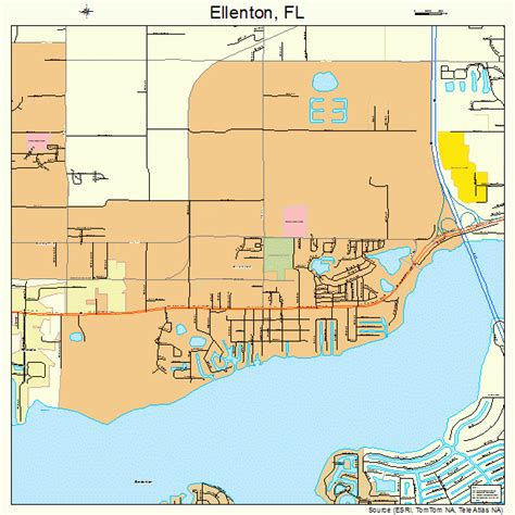 ellenton florida map 1220375
