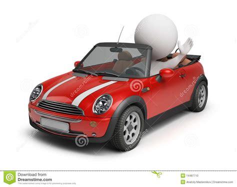 Auto Kologie by 3d Kleine Leute Kleines Auto Stockfoto Bild 14487710