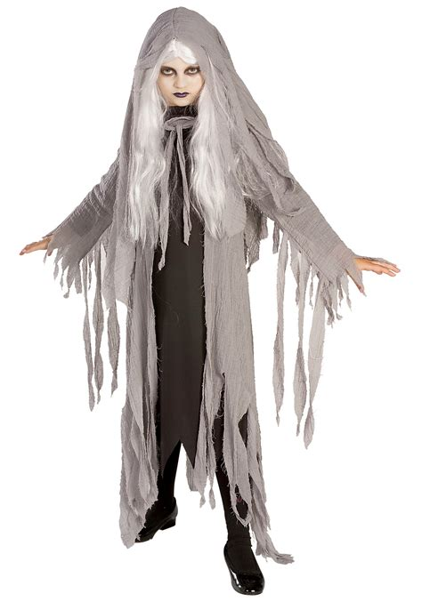 scary halloween costumes for girls child midnight ghost costume
