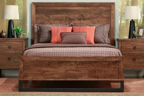 Wood Headboard And Footboard by Cumberland Bed With Wood Headboard Low Footboard