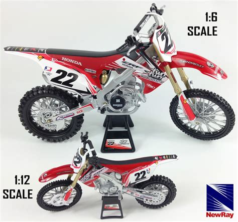 toy motocross chad reed honda crf 450 die cast motocross mx motorbike