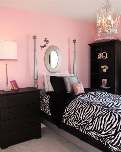 pink zebra bedroom ideas pink and black bedrooms panda s house