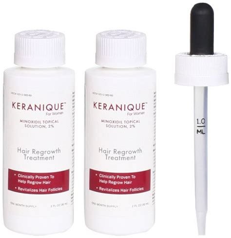 keranique hair regrowth hair growth products for women keranique hair regrowth 3 piece treatment set for women 2