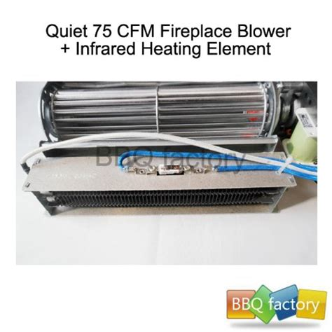 bbq factory replacement fireplace fan blower heating