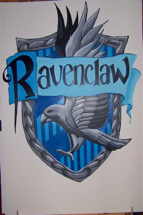 ravenclaw house ravenclaw house crest by ronniewilliams13 on deviantart