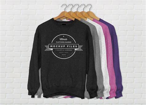 Sweater Logo Barong Family Hitam sudadera mockup pesede