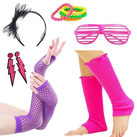 80s Accessories Set For by 80s Costumes For At 80sfashion Clothing