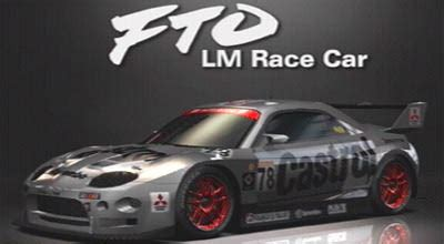 mitsubishi fto race car gran turismo livery replicas read op before