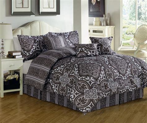 queen bed sets vikingwaterford com page 29 black gray satin queen size