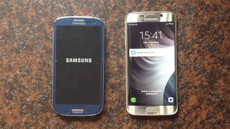 samsung galaxy s6 edge vs s3 s7 port rom open apps speed test