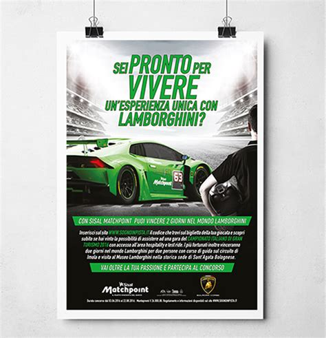 sisal match point mobile sisal lamborghini materiale sponsorship cherries