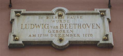 beethoven born in bonn file beethoven house of birth bonn inscription feb 2002