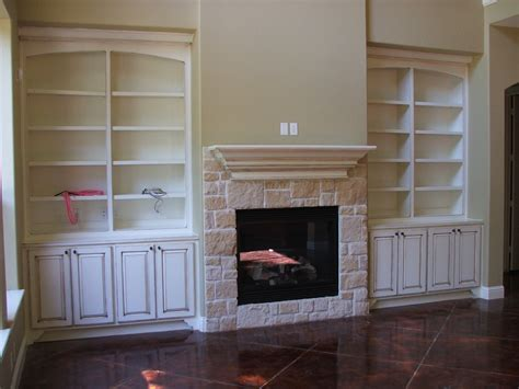 Fireplace Built In Bookshelves Built In Bookcases With Fireplace Houses Plans Designs