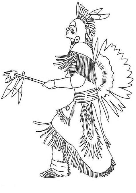 indian coloring pages coloringpages1001 com