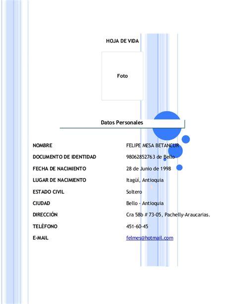 formato de pat 2015 esslidesharenet formato hoja de vida 2015 download pdf formato hoja vida 2015