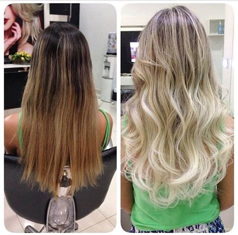 platinum blonde ombre hair pictures hair platinum blonde ombre hairstyles pinterest