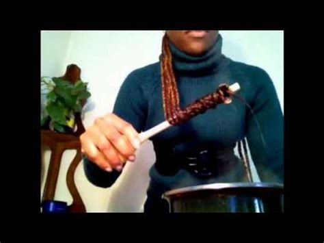 how to curl box braids with hot water how to curl box braids with hot water youtube