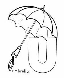 coloring page for letter u gallery