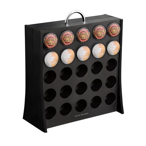 K Cup Wall Rack by Mind Reader Quot The Wall Quot 50 Capacity K Cup Coffee Pod