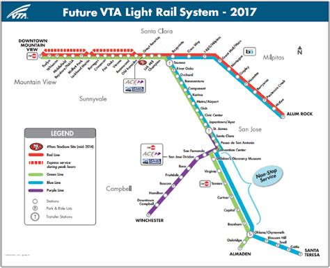 mountain view light rail schedule vta light rail san jose schedule decoratingspecial com