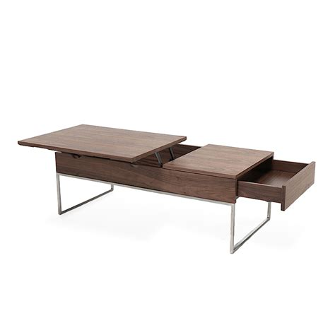 pop up coffee table functional gas lift