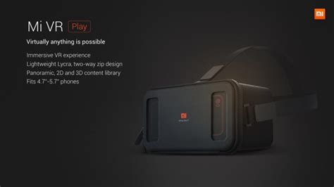 Diskon Xiaomi Vr 2 3d Glass Kacamata Vr Headset Remote xiaomi mi vr headset launched android authority