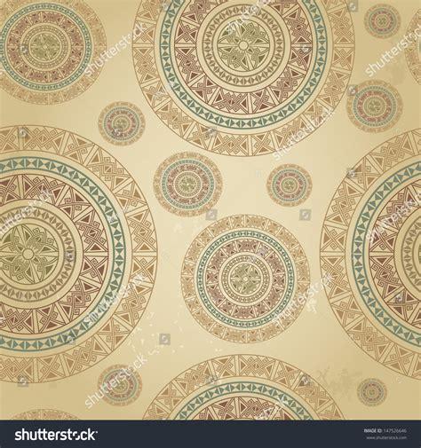 vintage pattern web vintage pattern ethnic ornament on grunge stock vector
