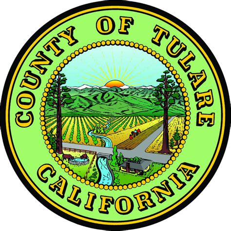 Tulare County Records File Seal Of Tulare County California Png Wikimedia Commons