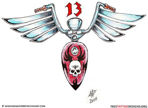 christian biker tattoo designs biker and harley davidson tattoos