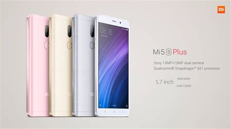 Mi 5 S xiaomi mi 5s plus overview techfunology