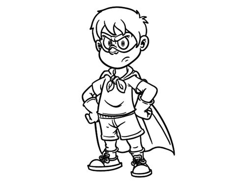 Superboy Coloring Page Coloringcrew Com Superboy Coloring Pages