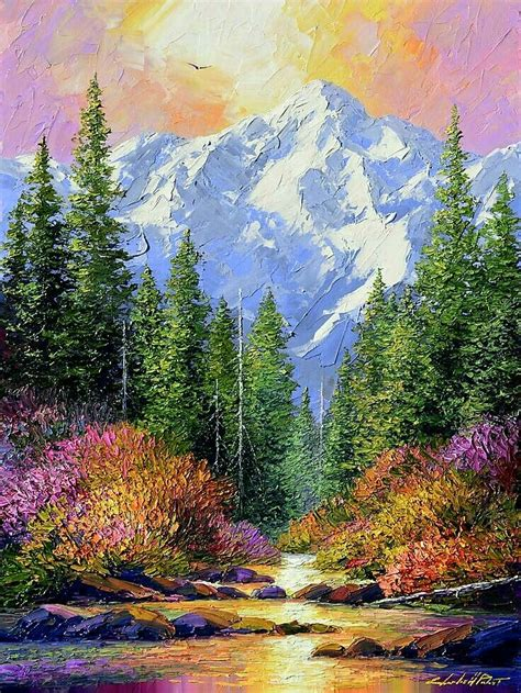 Nature Paintings by Best 25 Beautiful Paintings Of Nature Ideas On