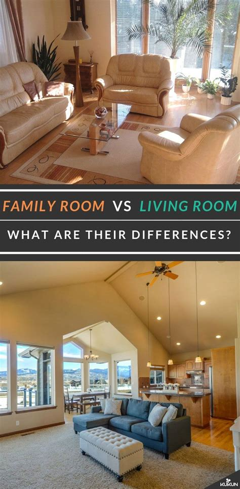 family room  living room learn   differences