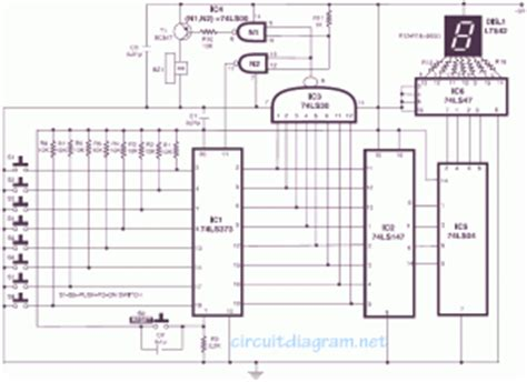 circuit design contest questions secret diagram electronic quiz buzzer circuit diagram