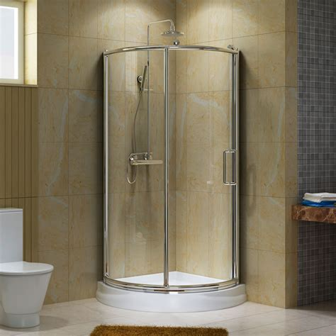 Shower Stall Ideas For A Small Bathroom 38 Quot Webber Corner Shower Enclosure Small Bathroom Corner Shower Enclosures