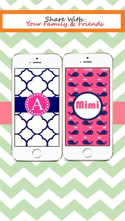 theme wallpaper creator designer monogram lite beautiful custom theme wallpaper