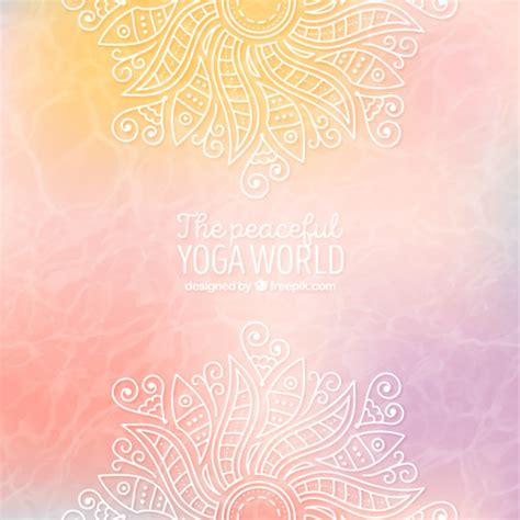 Imagenes De Fondo Yoga | fondo de yoga abstracto descargar vectores gratis