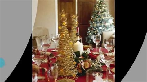 christmas dinner table decorating ideas youtube christmas dinner table decorations youtube