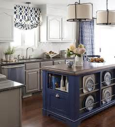Blue And White Kitchen by Fresh Design Ideas A Blue And White Kitchen
