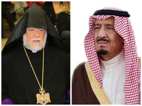 biography of king salman his holiness aram i sends a letter of condolence to king