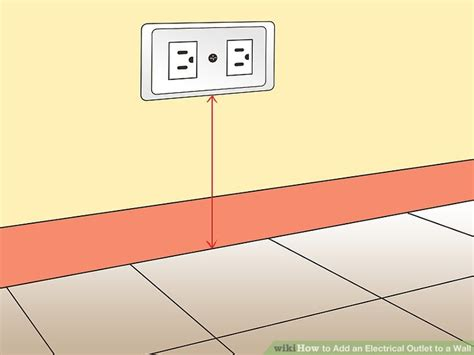 Outlet Height From Floor by How To Add An Electrical Outlet To A Wall 14 Steps