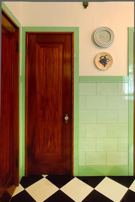 Art Deco Kitchen Photographs From The 1920s To 1940s Deco Interior Doors