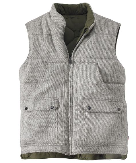 mens outdoor clothing made in usa s bethlehem reversible wool vest by woolrich 174 the