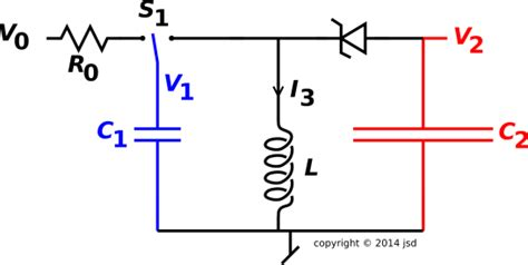 diode capacitor circuits capacitor diode circuit 28 images capacitor to capacitor transfer of energy and gorge diode