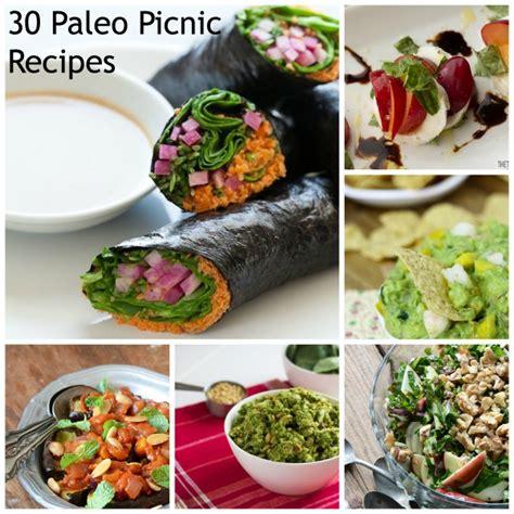 paleo picnic recipe round up seasonal savory