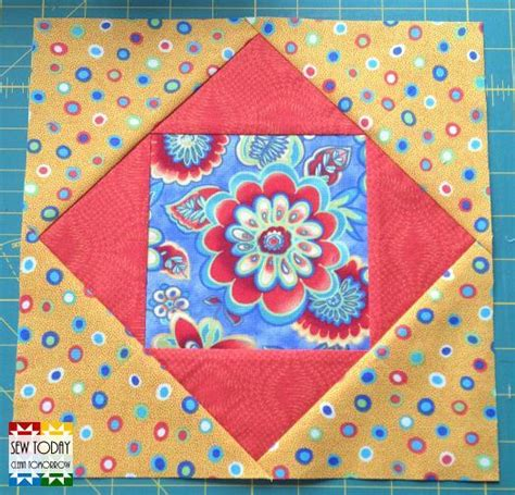 Square In A Square Quilt Block Pattern by Square In A Square Quilt Block Pattern By Rachael G Craftsy