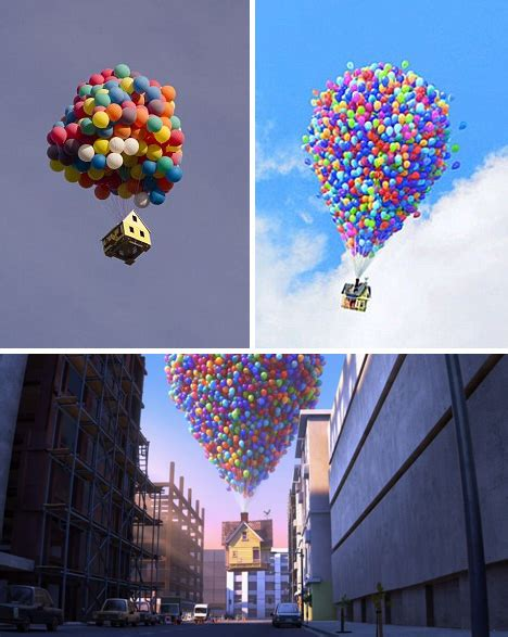 film up home video 300 helium balloons float real up house 10 000 feet high