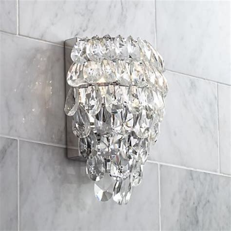 crystal wall sconce bathroom 275 best images about bathroom designs on pinterest
