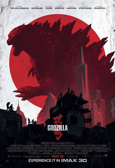 film godzilla godzilla imax poster for 2014 film