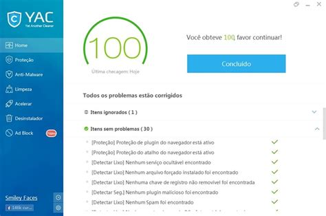 ccleaner qual o melhor yet another cleaner download techtudo